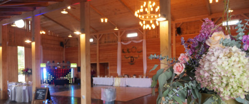 wedding venue for reception in Edmeston, NY